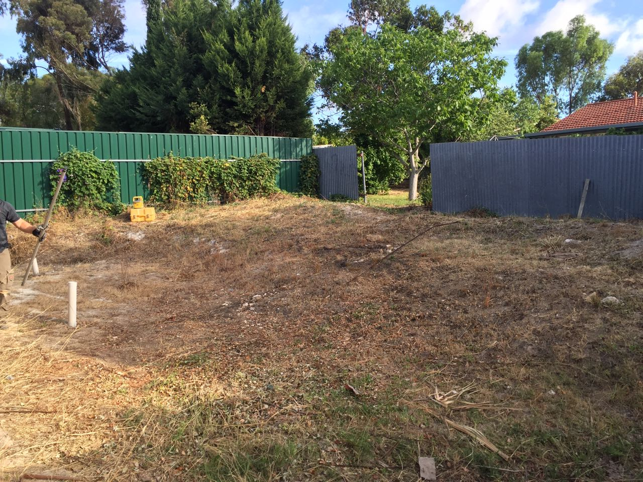 Modbury Heights - Gearing Up The Backyard For Retaining Wall