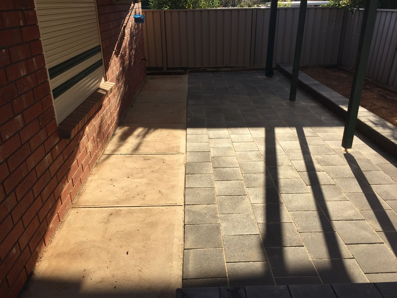 Craigmore - Paved Garden Maintenance & Cleaning-After