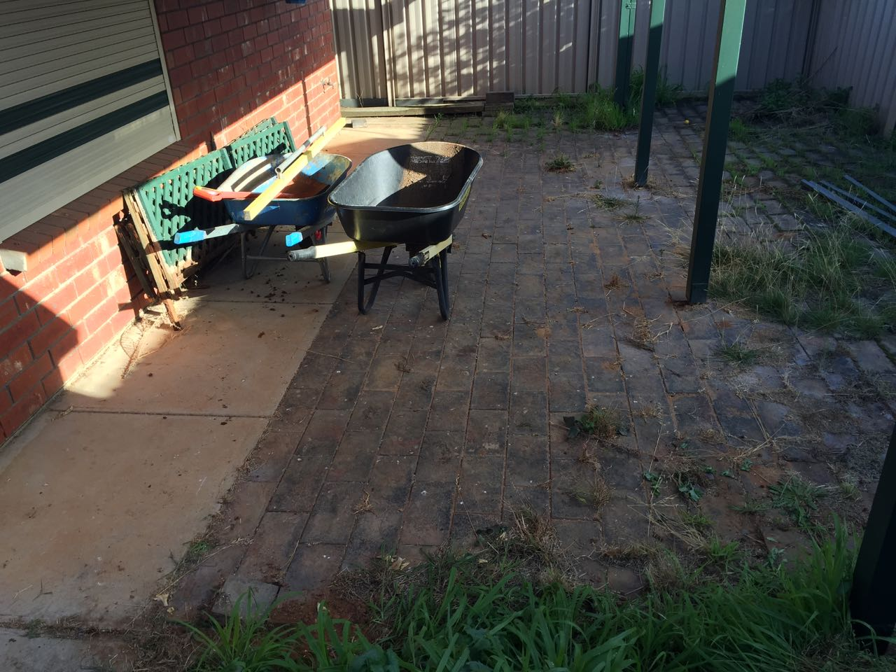 Craigmore - Paved Garden Maintenance & Cleaning-Before
