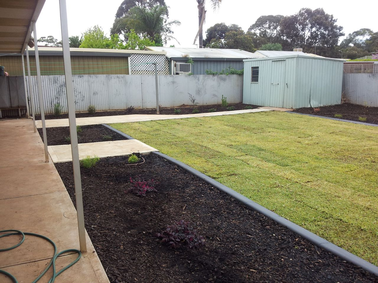 Salisbury Heights - Levelled Grass With Flat Bed