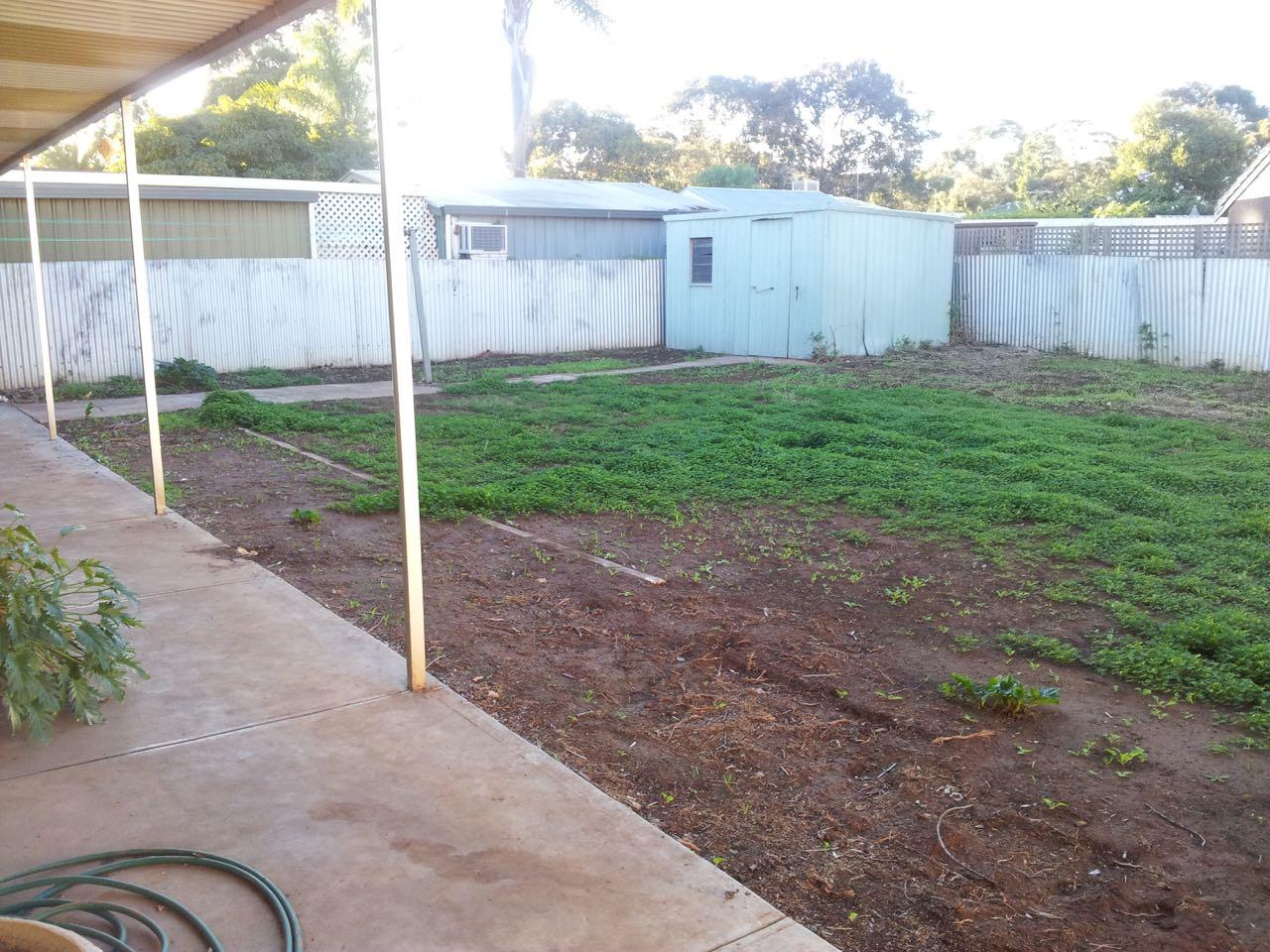 Salisbury Heights - Tidying Up The Backyard Garden